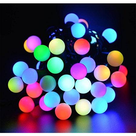 Geeek Globe-Birnen-Licht-Kabel LED-Lichter 5 Meter RGB