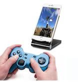Geeek 3 in 1 Wireless Smartphone Ladegerät Tischplattenaufladeeinheits QI-Energien-Bank Schwarz