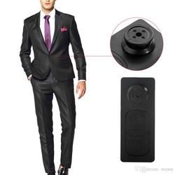 Geeek Spy Knoop Verborgen HD Camera Met Microfoon 8GB