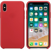 Hoogwaardige iPhone X / XS Silicone Case Cover Hoes