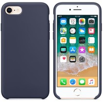 Hoogwaardige Silicone Case / Cover / Hoes voor iPhone 8 / 7