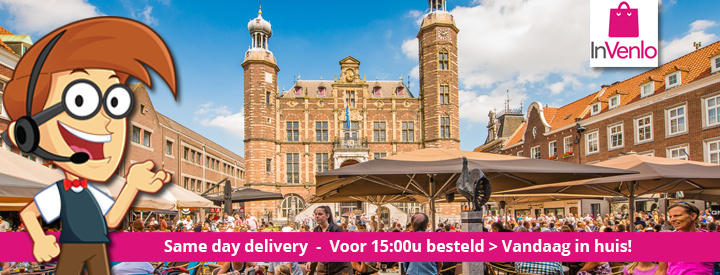 100% lokaal online shoppen - same day delivery