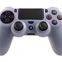 Silikonschutzhülle für PS4 KontrollerCover Skin - Transparent
