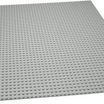 Grote Grondplaat Bouwplaat voor Lego Grijs 48x48