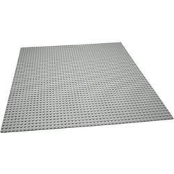 Geeek Große Grundplatte Bauplatte für Lego Grey 48x48