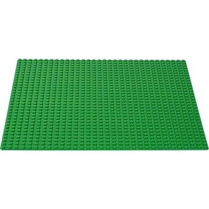 Geeek Grote Grondplaat Bouwplaat voor Lego Groen 48x48
