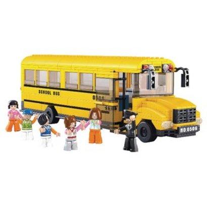 Sluban Bouwstenen Town Serie Grote Schoolbus