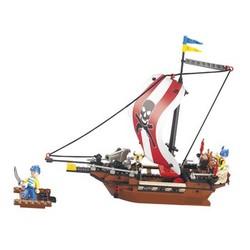 Sluban Bouwstenen Pirate Serie Piratenschip