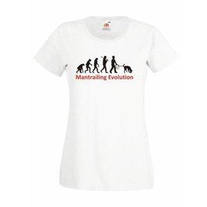 Damen T-Shirt Mantrailing Evolution