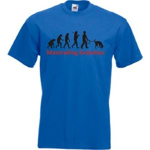 Herren T-Shirt Mantrailing Evolution