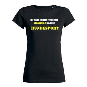 Damen T-Shirt Hundesport