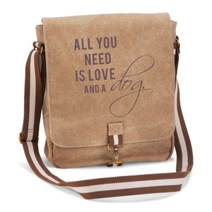 Tasche - Vintage all you need is love and a dog