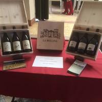 La Bollina Boîte en bois pour 3 bouteilles de La Bollina