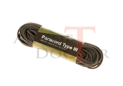 Invader Gear Paracord 550lb Army Green 50 feet