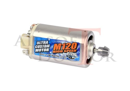 G&P M120 HighSpeed Motor - Short