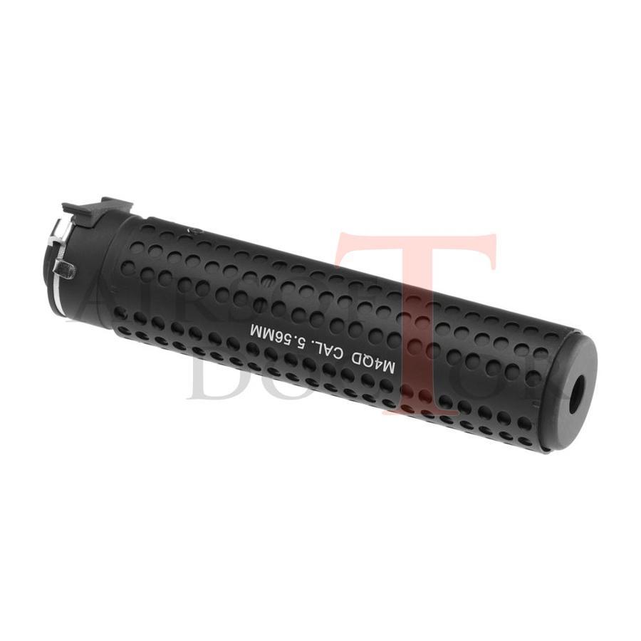 KAC QD 168mm Silencer CCW - Black-2