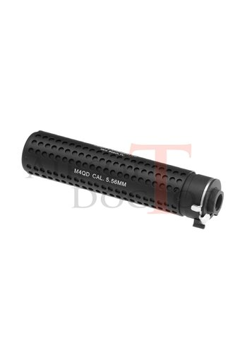 Airsoft Doctor KAC QD 168mm Silencer CCW - Black