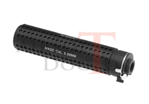 Airsoft Doctor KAC QD 168mm Silencer CCW - Black
