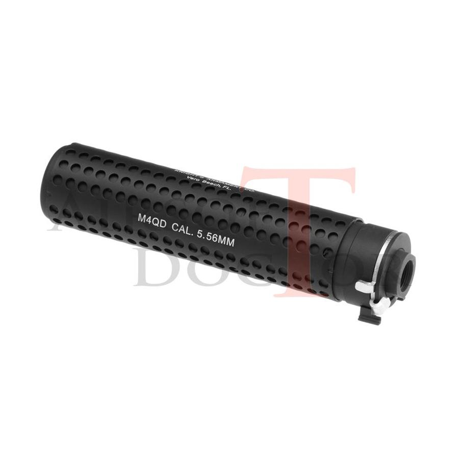 KAC QD 168mm Silencer CCW - Black-1