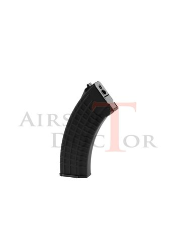 King Arms Magazine AK47 Waffle Hicap 600rds - Black