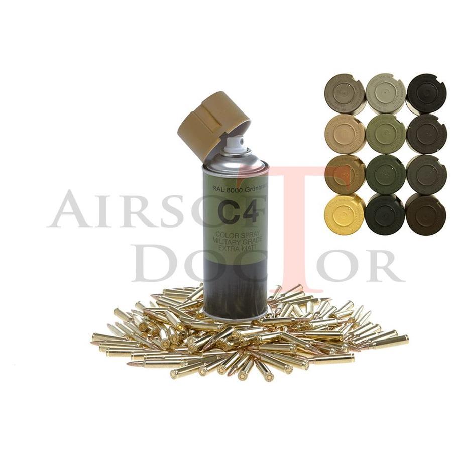 C4 Mil Grade Color Spray RAL 8000-2