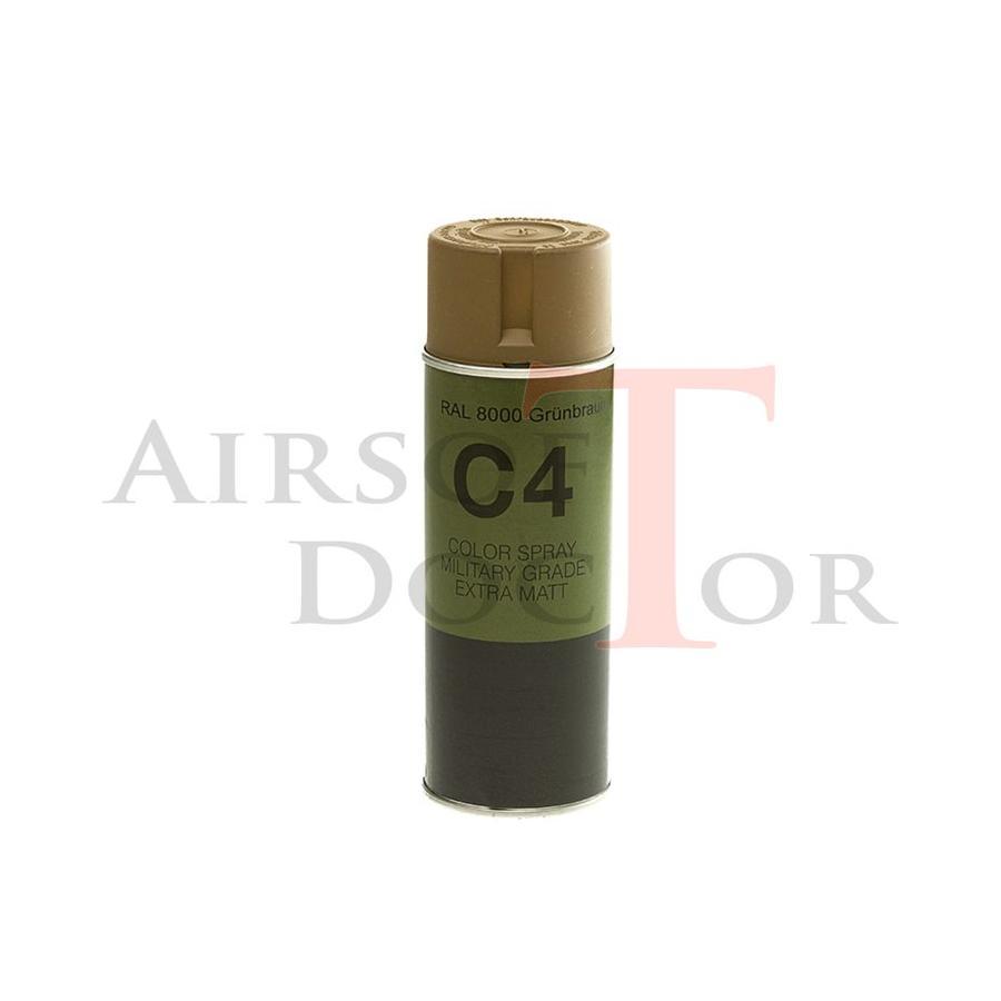 C4 Mil Grade Color Spray RAL 8000-3