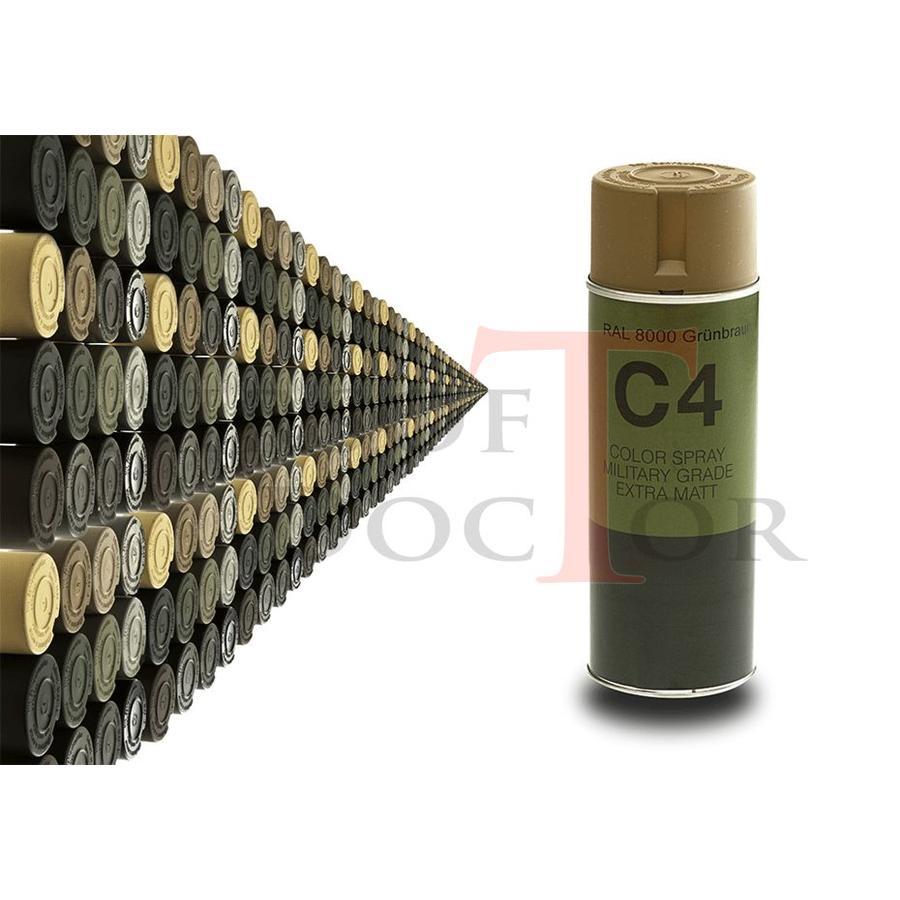 C4 Mil Grade Color Spray RAL 8000-1