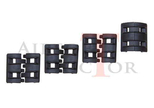 Element Twin Rail Panel Set 4x2 - Black