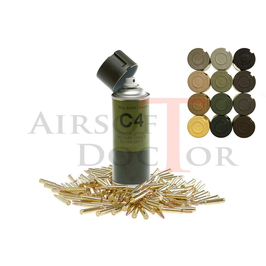 C4 Mil Grade Color Spray RAL 6006-2