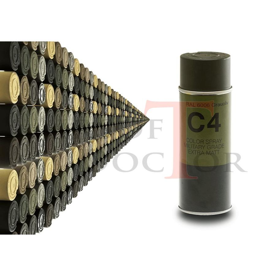 C4 Mil Grade Color Spray RAL 6006-1