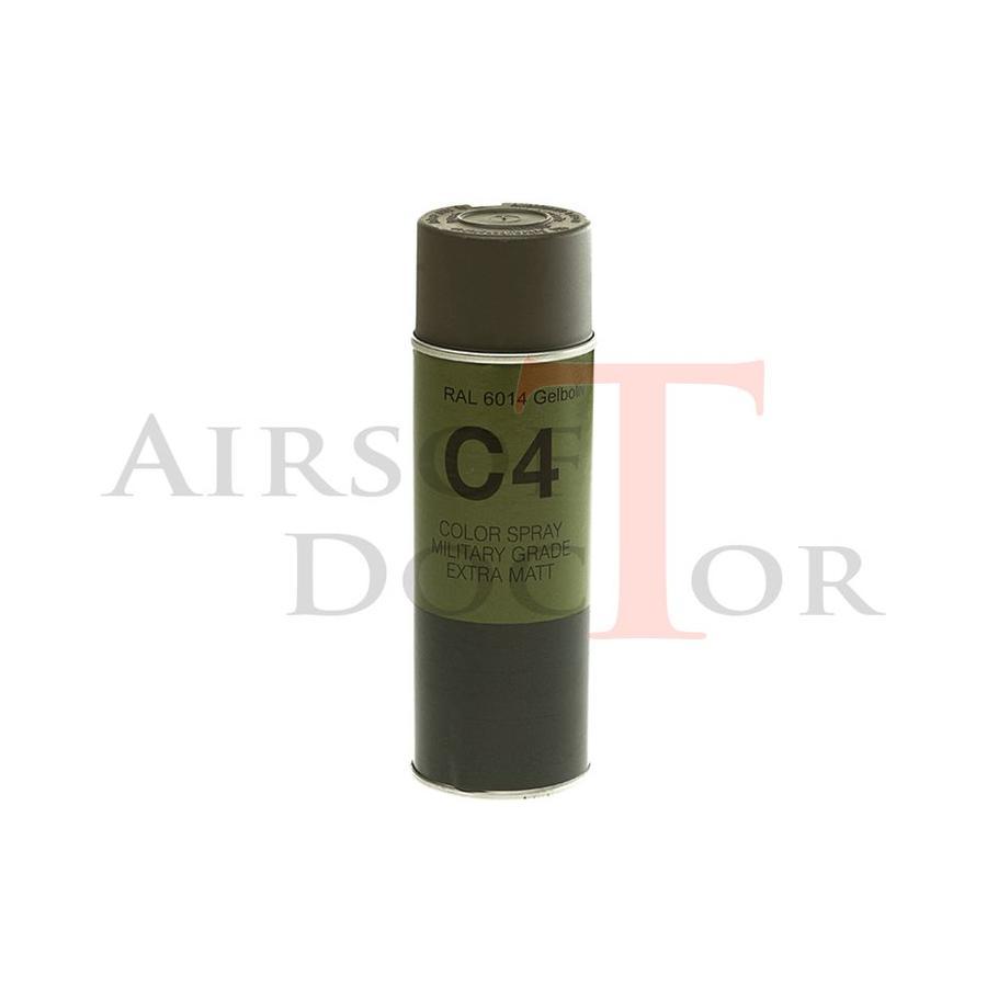 C4 Mil Grade Color Spray RAL 6014