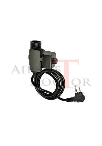 Z-Tactical U94 PTT Motorola 2-Way Connector
