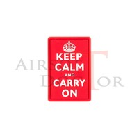 Patch - Keep Calm - Red
