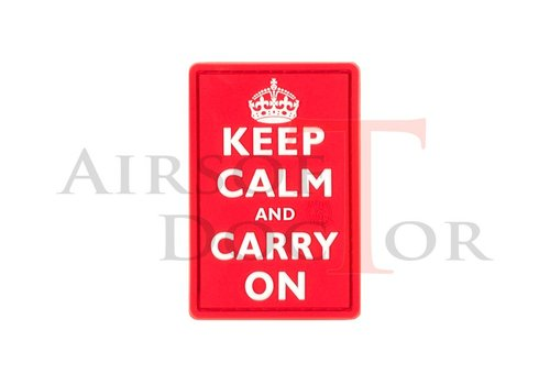 Airsoft Doctor Patch - Keep Calm - Red