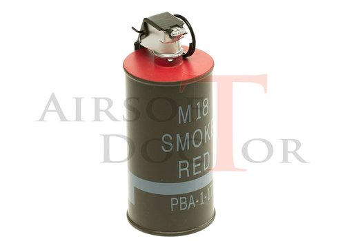 Pirate Arms M83 Smoke grenade Dummy Red