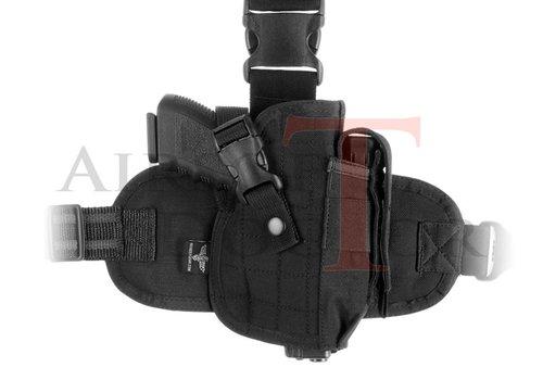 Invader Gear Dropleg Holster - Black