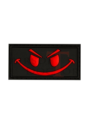 Airsoft Doctor Patch - Smile Red