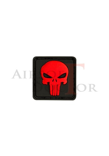 Airsoft Doctor Patch - Punisher Red