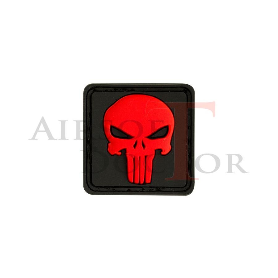 Patch - Punisher Red
