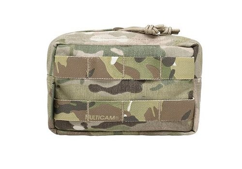 Warrior Assault Systems Small Horizontal MOLLE Pouch - Multicam