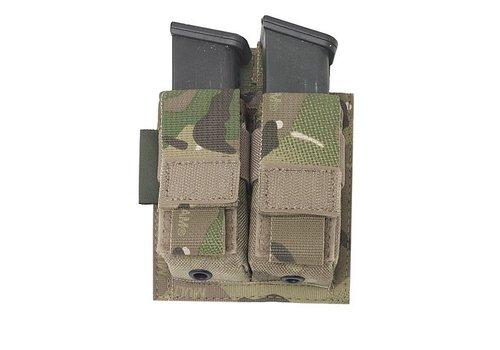 Warrior Assault Systems Double direct Action Pistol Pouch - Multicam