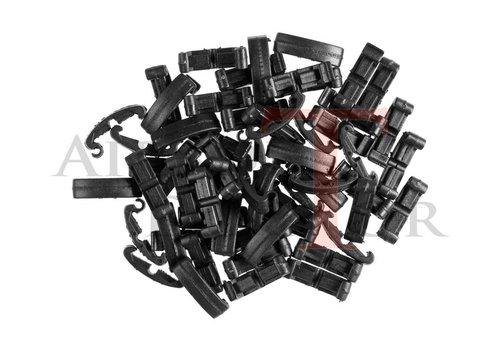 FMA Index Clips 60pcs - Black