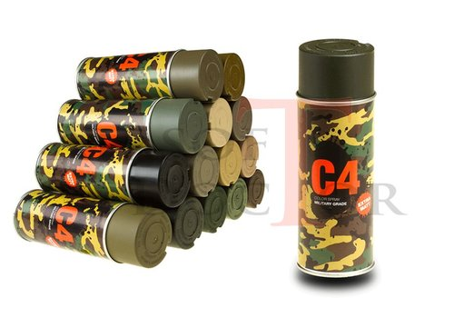 C4 Mil Grade Color Spray OD Green