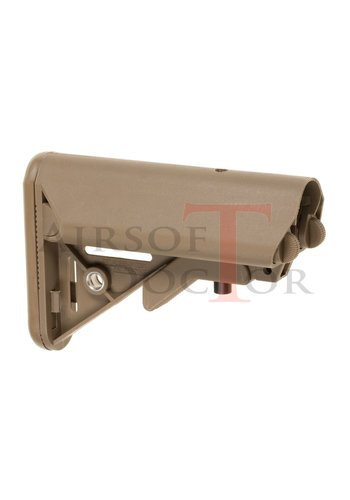 Pirate Arms Mk18 Mod 0 LMT Crane Stock - Tan
