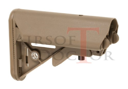 Pirate Arms Mk18 Mod 0 LMT Crane Stock - Tan