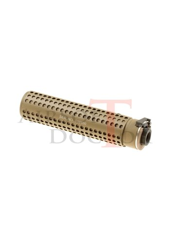 Airsoft Doctor KAC QD 168mm Silencer CCW - Tan
