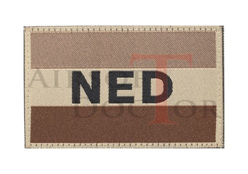 Claw Gear Netherlands Flag Patch - Tan
