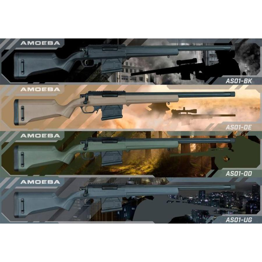 (Amoeba) STRIKER S1 Sniper Rifle - Grey-1