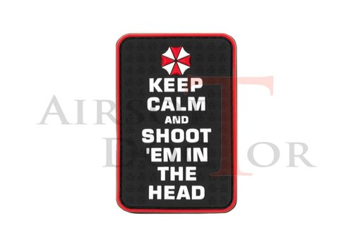 Keep Calm and Shoot Rubber Patch