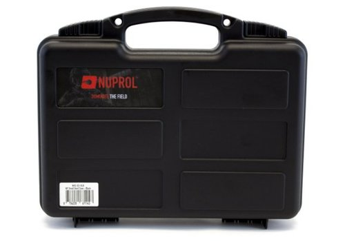 WEEU Nuprol Pistol Small Hard Case - Black